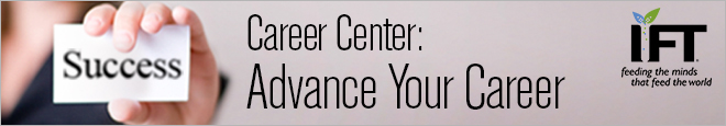 Advance Your Career with IFT's Career Center